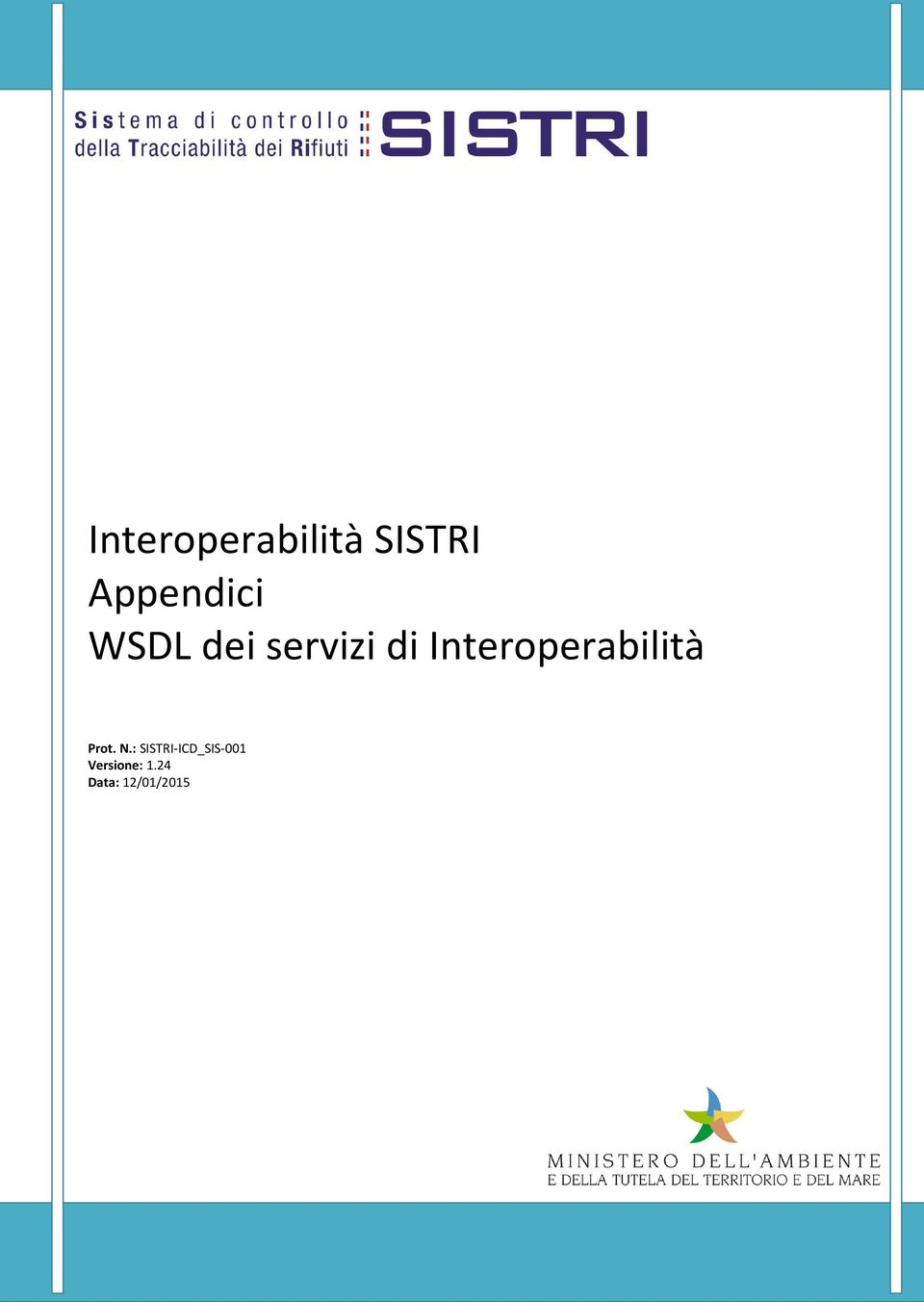 di Interoperabilità Prot. N.