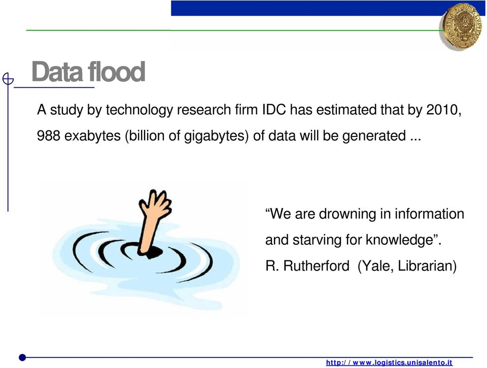 gigabytes) of data will be generated.
