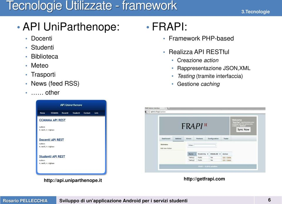 (feed RSS) other FRAPI: Framework PHP-based Realizza API RESTful Creazione