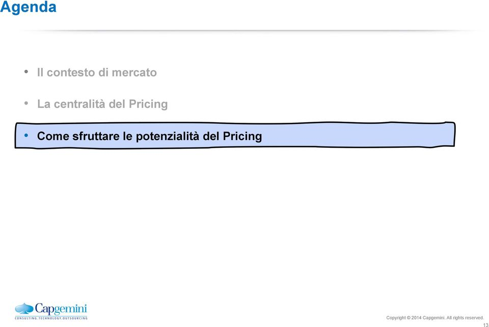 Pricing Come sfruttare le