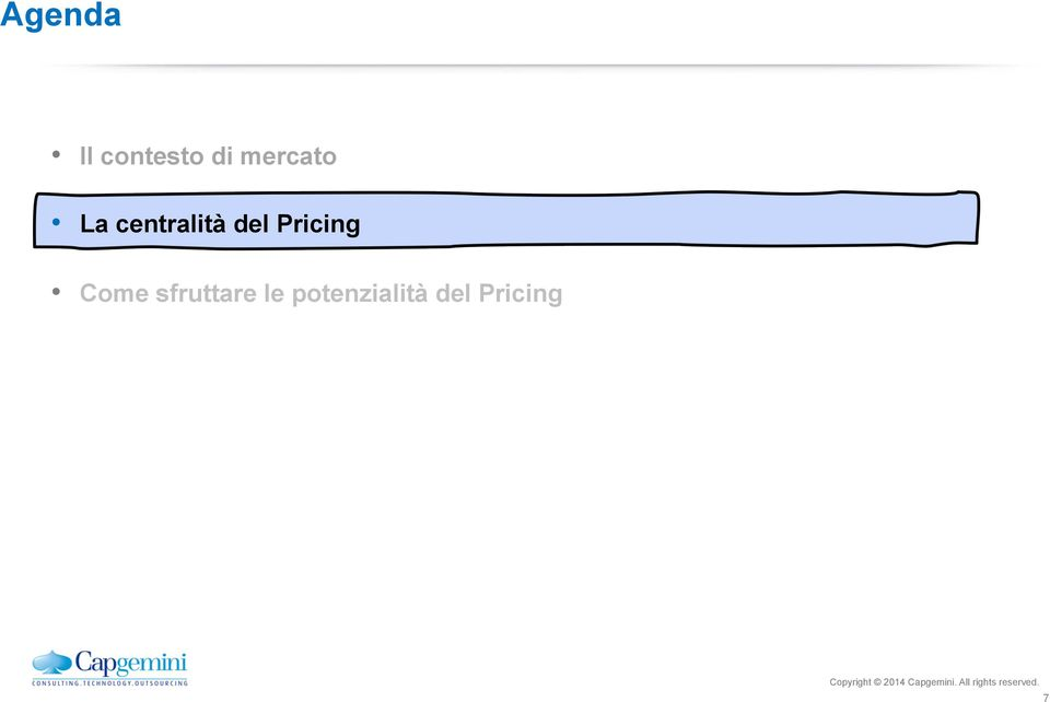 del Pricing Come