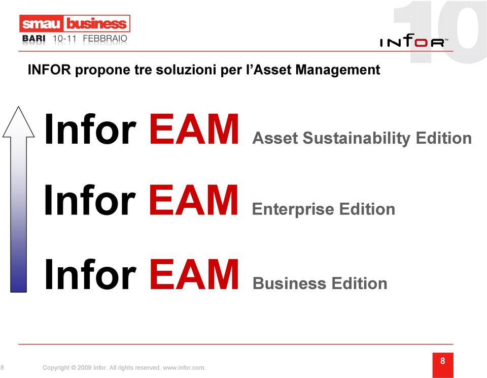 Enterprise Edition Infor EAM Business Edition 8