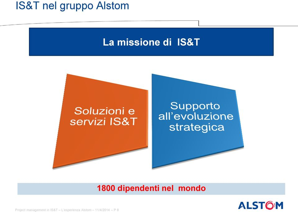 nel mondo Project management in