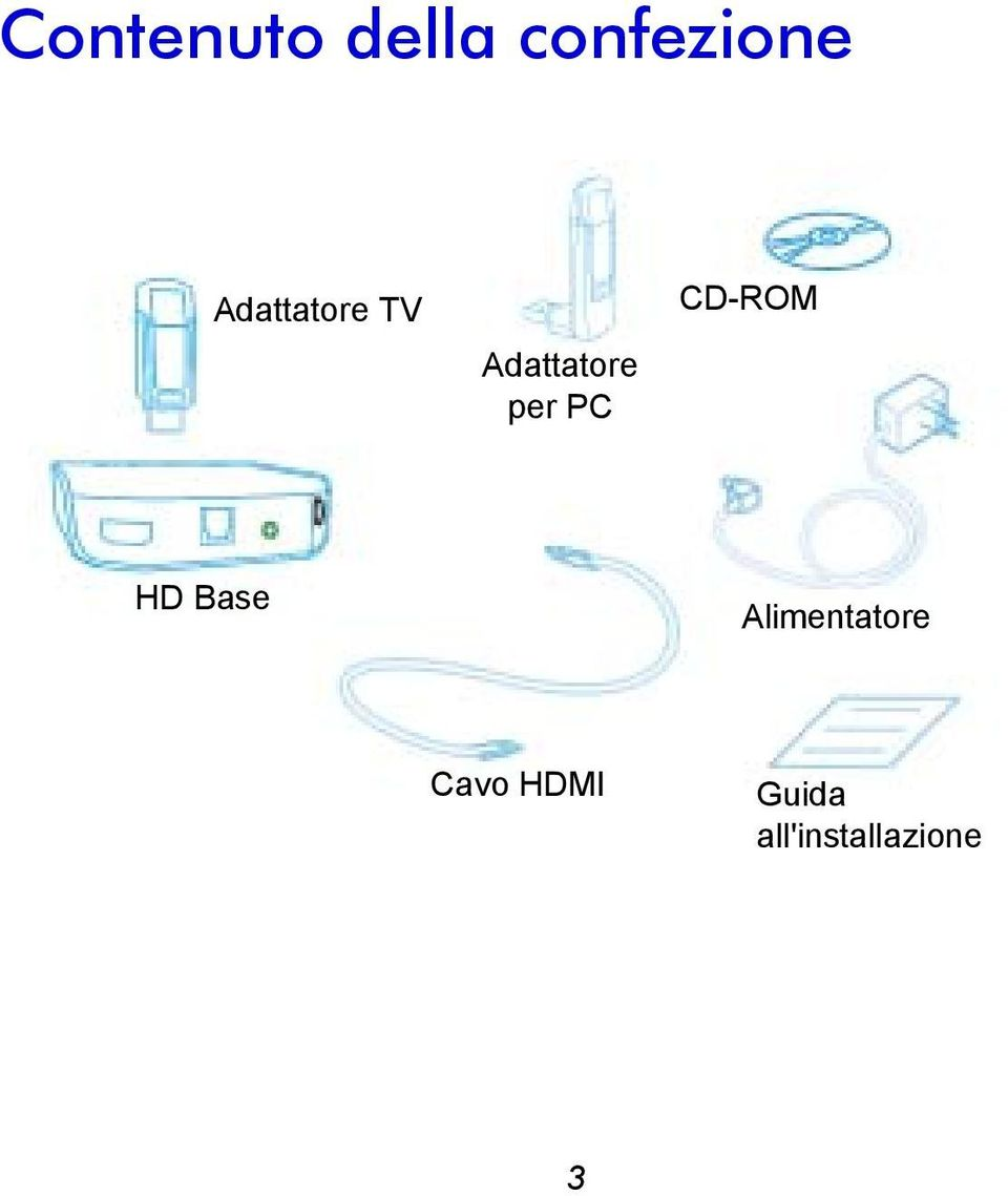 PC CD-ROM HD Base Alimentatore