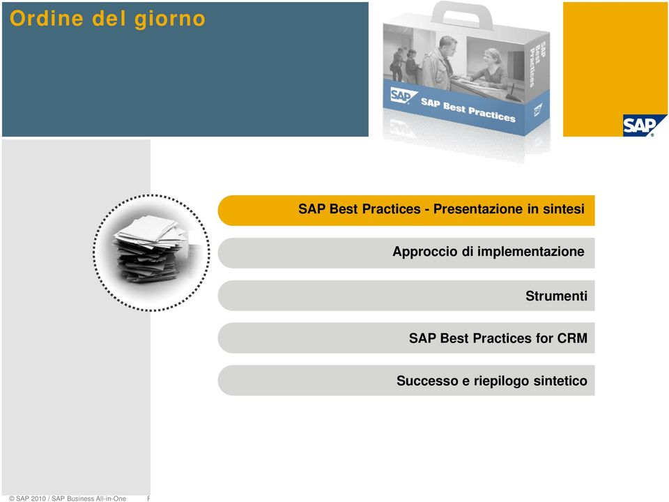 implementazione Strumenti SAP Best Practices for
