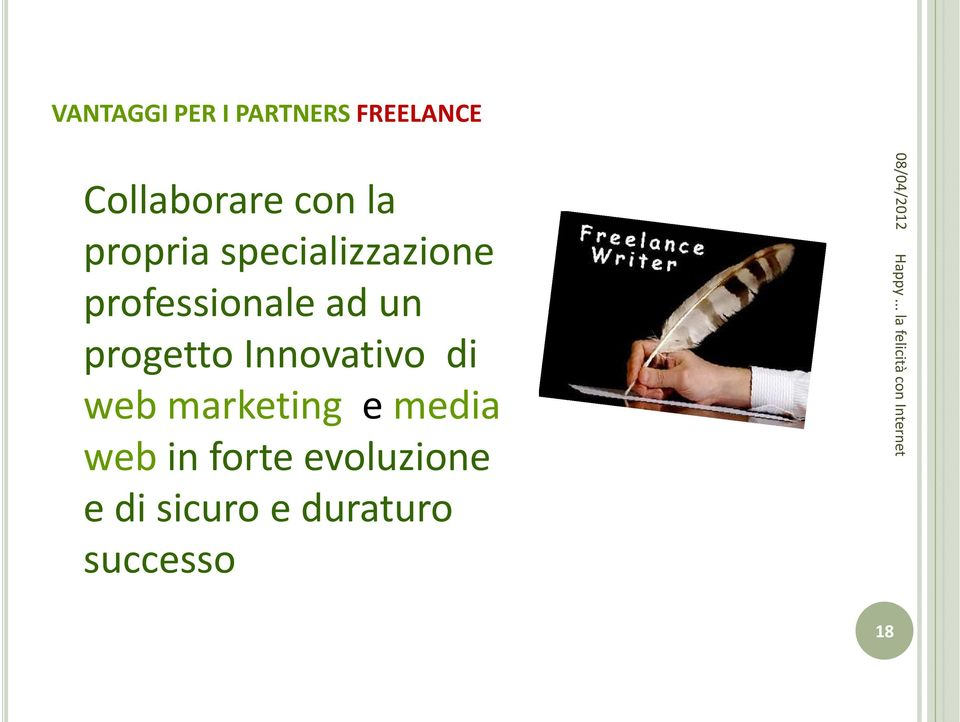 progetto Innovativo di web marketing e media web