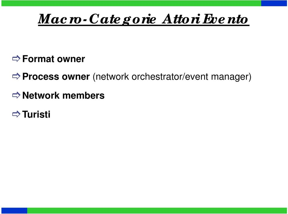 (network orchestrator/event