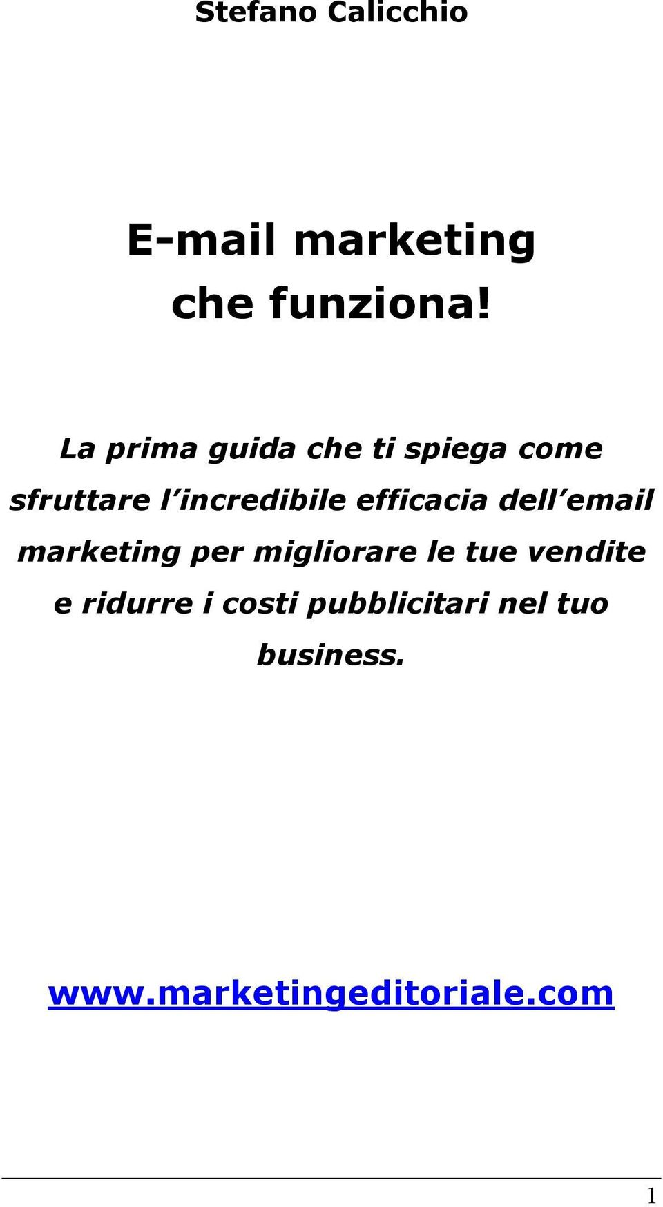 efficacia dell email marketing per migliorare le tue vendite