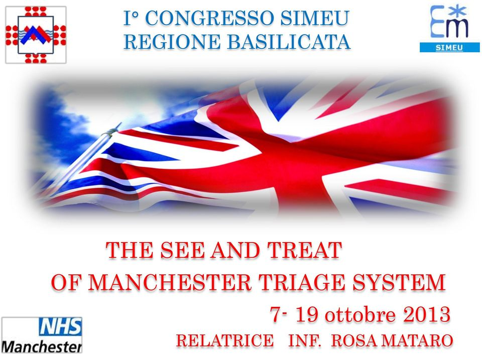 MANCHESTER TRIAGE SYSTEM 7-19