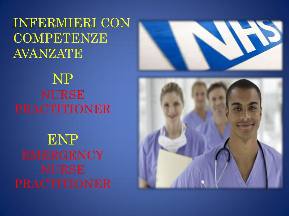 NURSE PRACTITIONER ENP