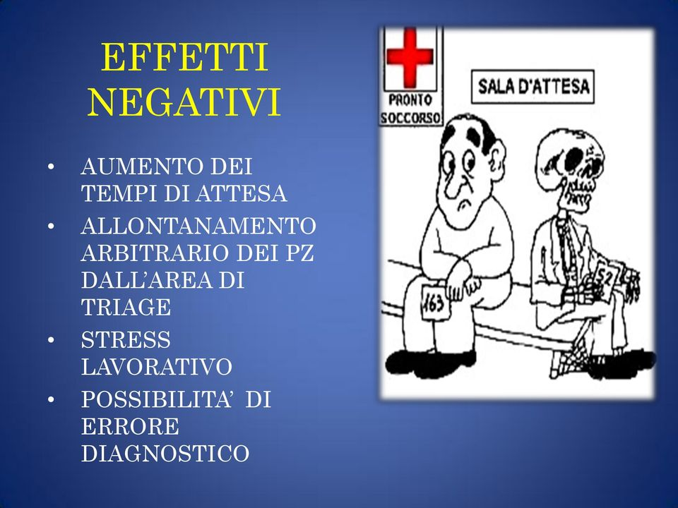 PZ DALL AREA DI TRIAGE STRESS