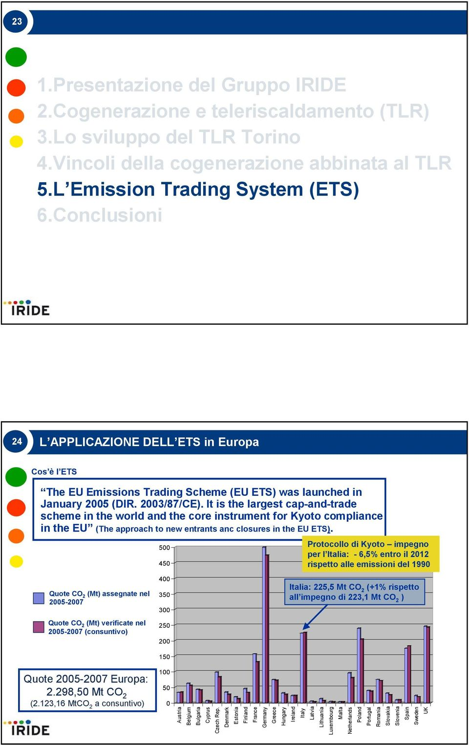 It is the largest cap-and-trade scheme in the world and the core instrument for Kyoto compliance in the EU (The approach to new entrants anc closures in the EU ETS).