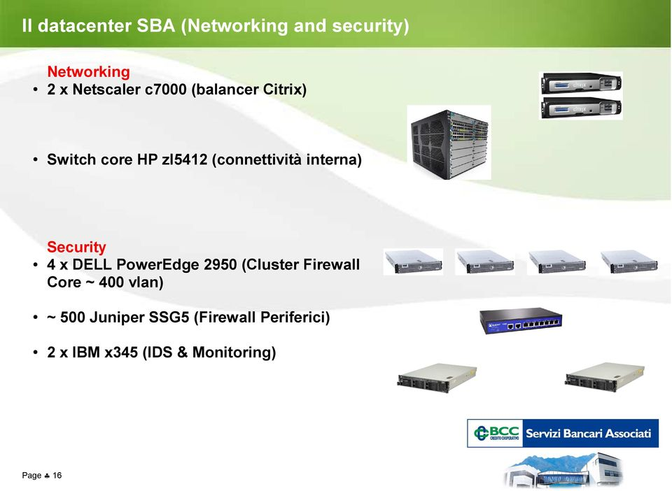 Security 4 x DELL PowerEdge 2950 (Cluster Firewall Core ~ 400 vlan) ~