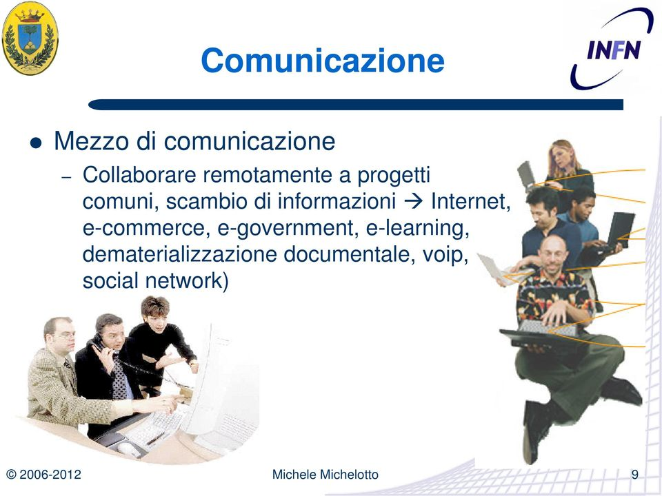 informazioni Internet, e-commerce, e-government,