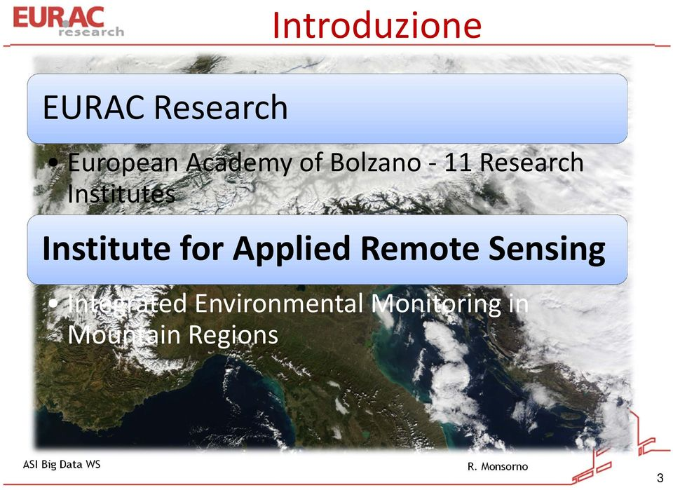 Institute for Applied Remote Sensing