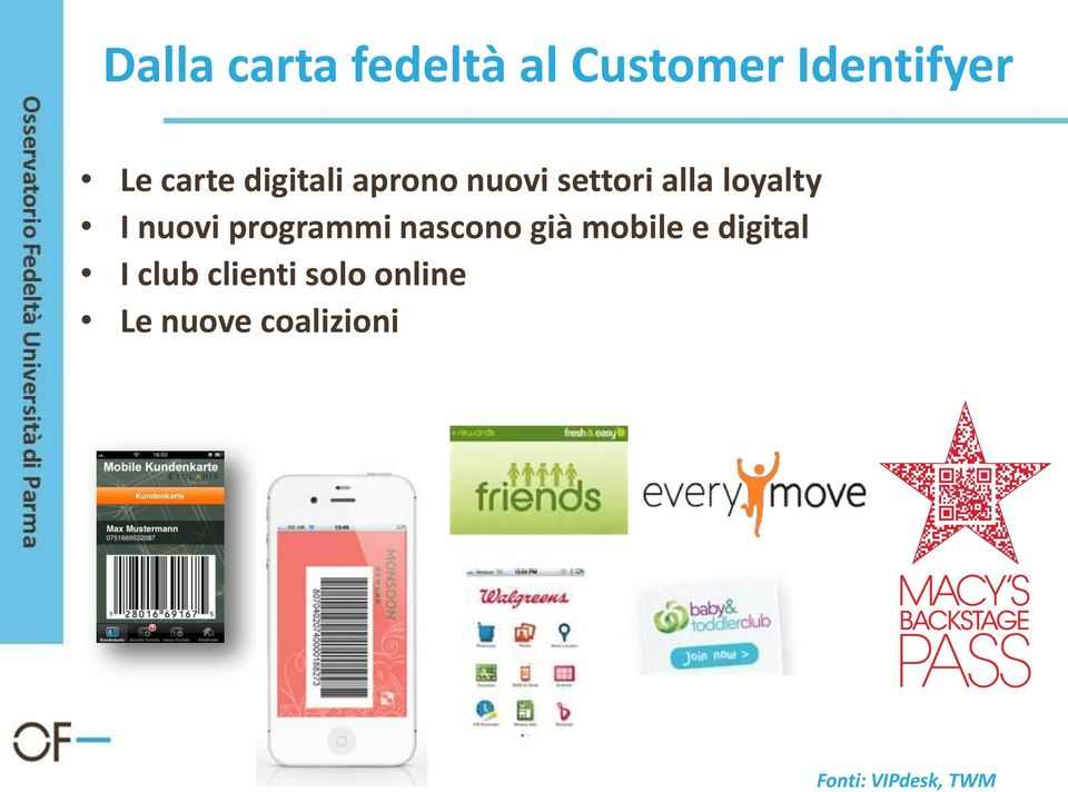 programmi nascono già mobile e digital I club
