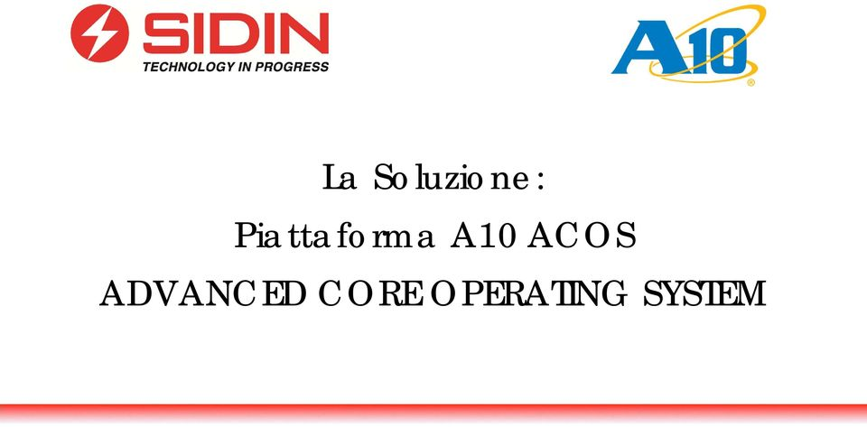 ACOS. ADVANCED