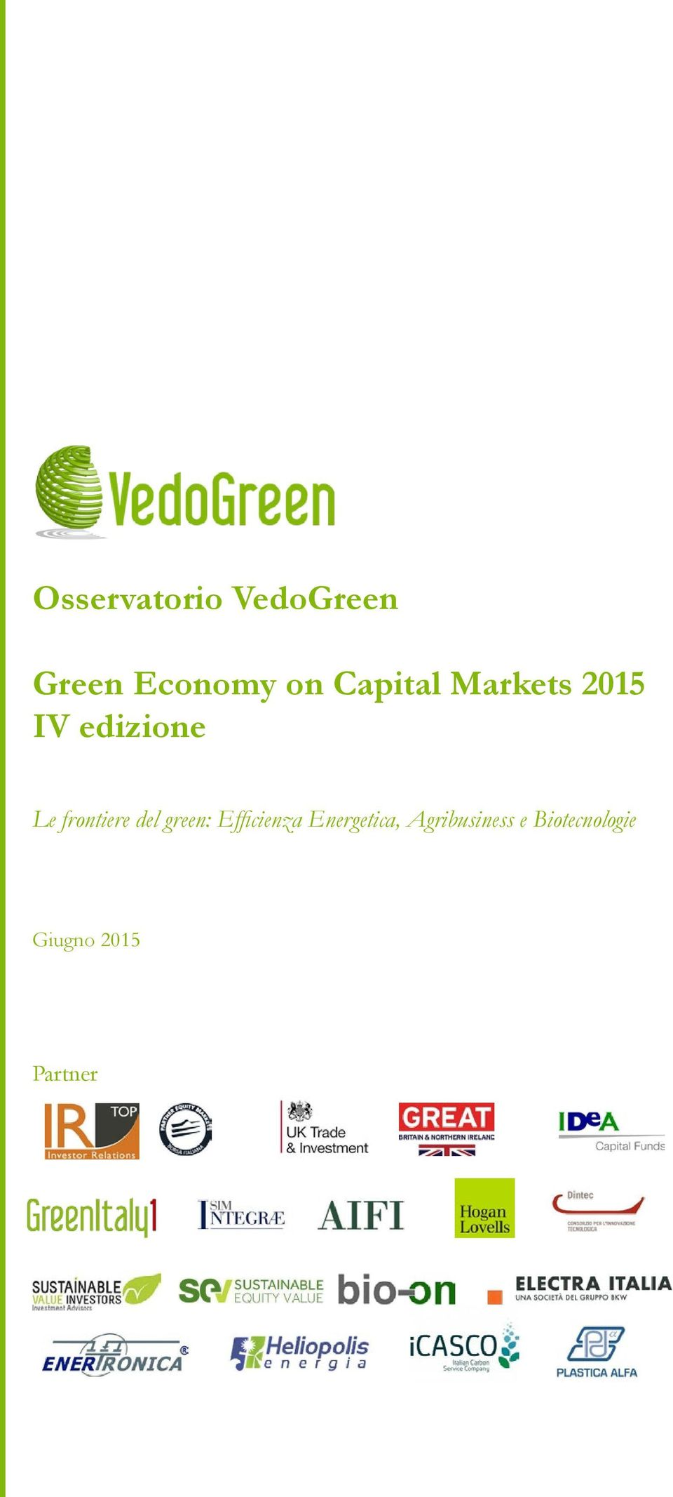 frontiere del green: Efficienza