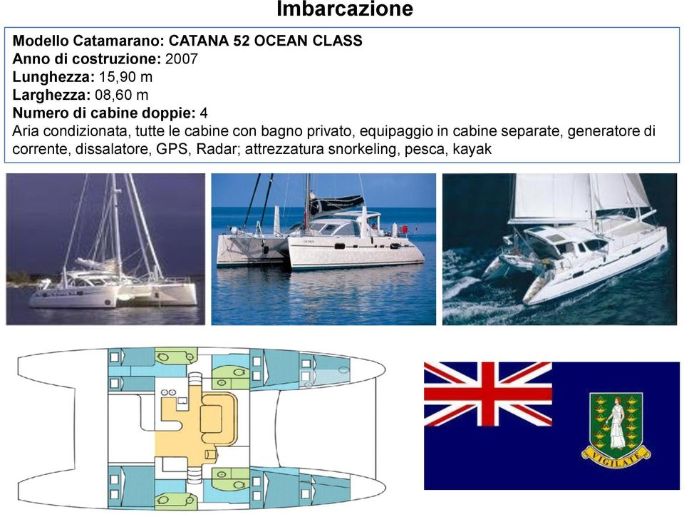 Crociera in catamarano alle b v i british virgin islands for Charter di cabine bvi