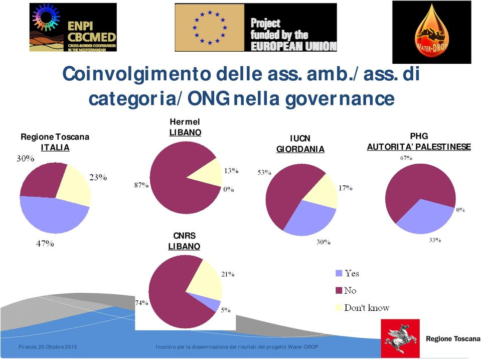 di categoria/ong nella governance