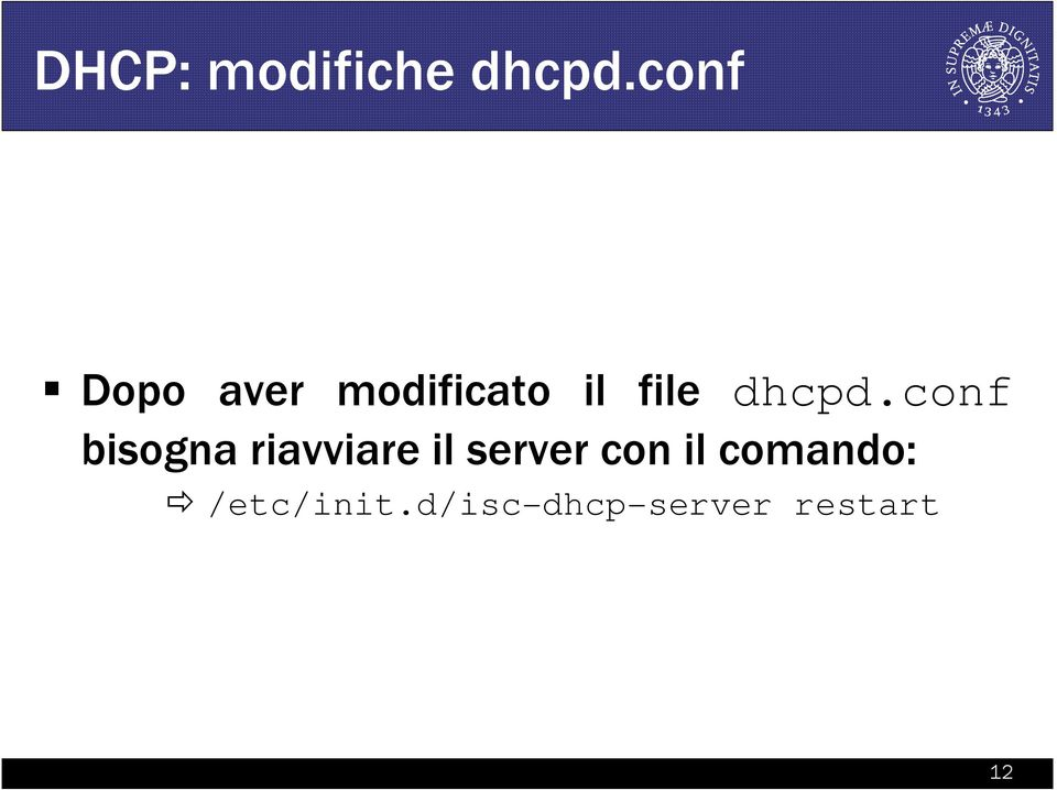 dhcpd.