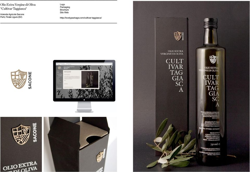 Finale Ligure (SV) Logo Packaging Brochure