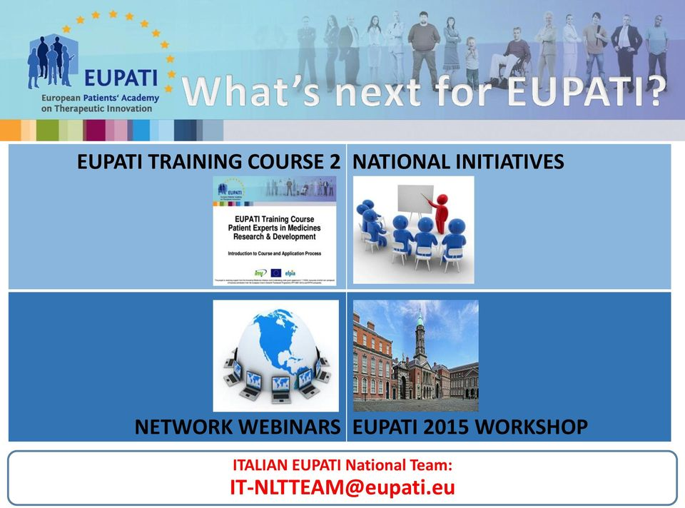 EUPATI 2015 WORKSHOP ITALIAN