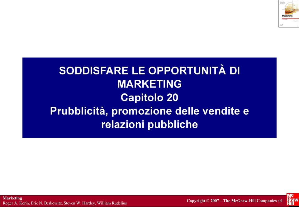 pubbliche Marketing Roger A. Kerin, Eric N.
