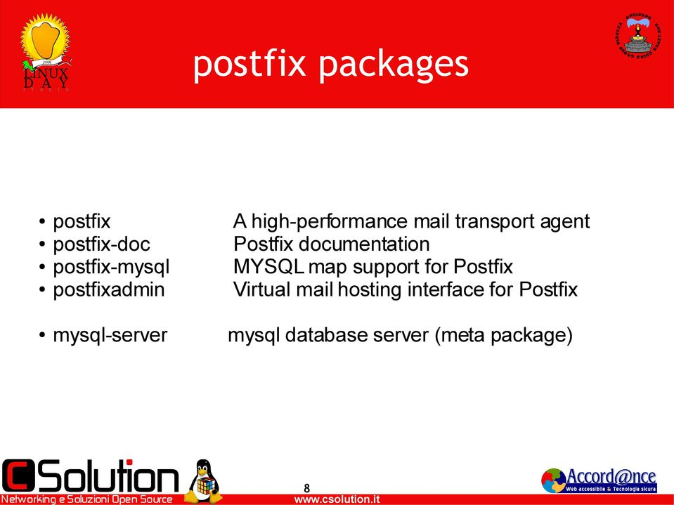 documentation MYSQL map support for Postfix Virtual mail