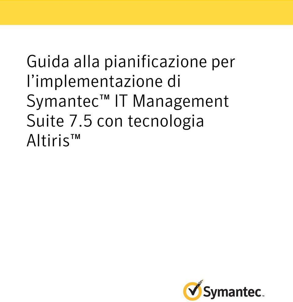 Symantec IT Management