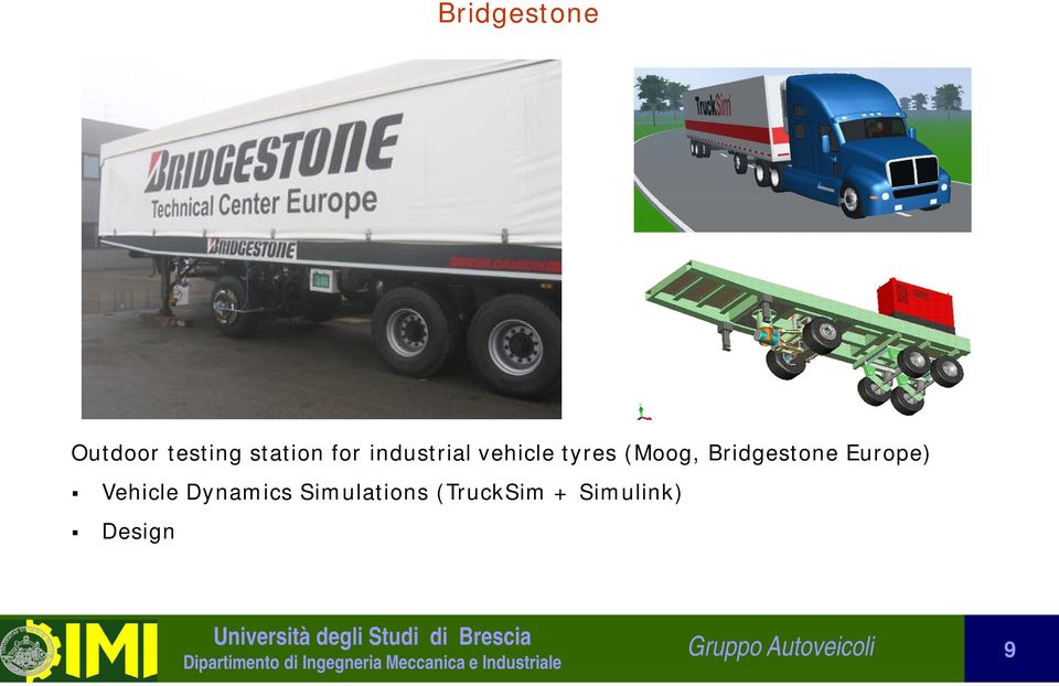 Bridgestone Europe) Vehicle Dynamics