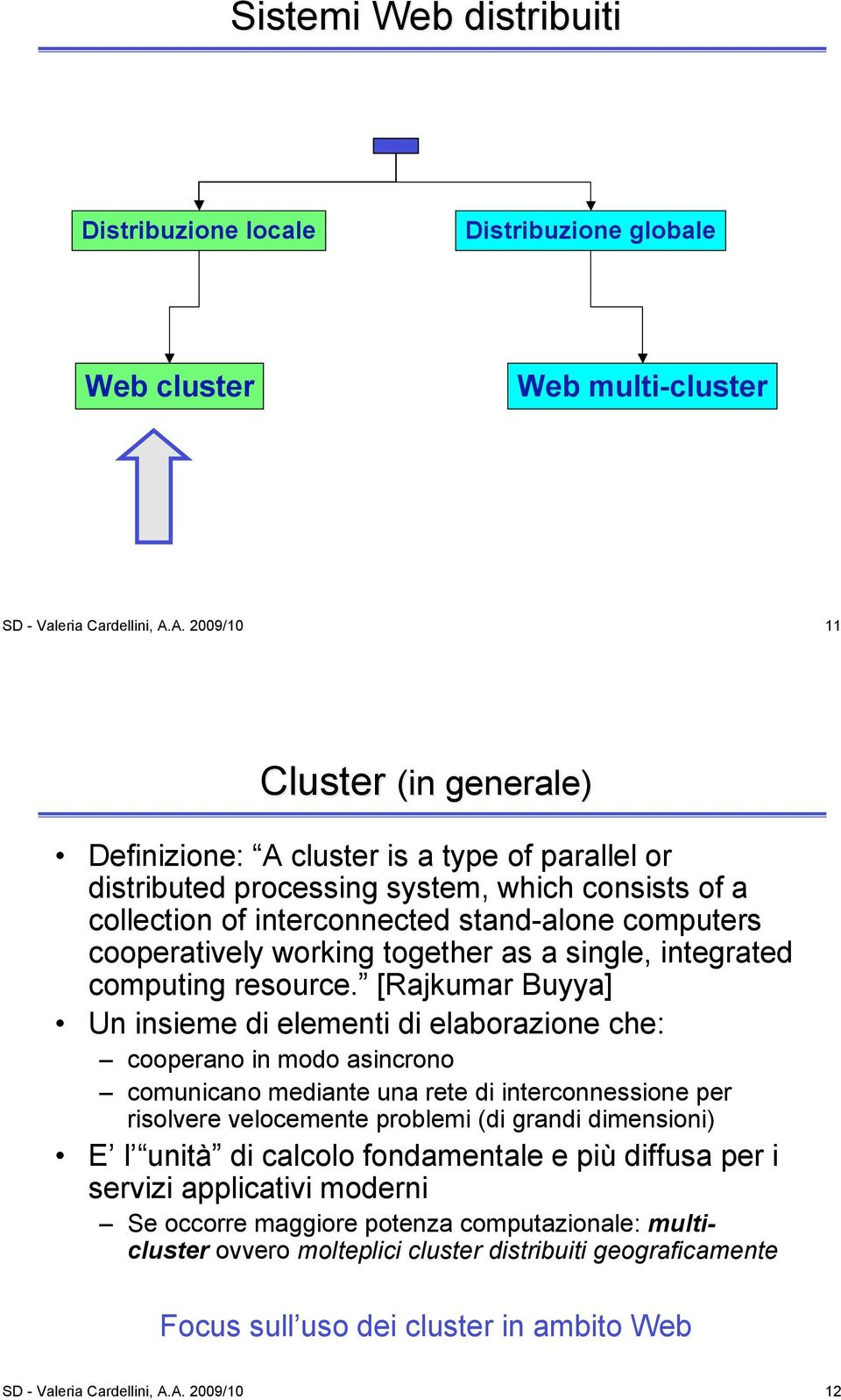 working together as a single, integrated computing resource.