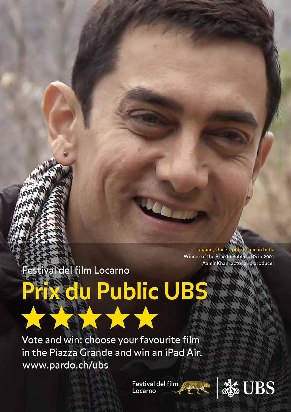 producer Prix du Public UBS Vote and win: choose your