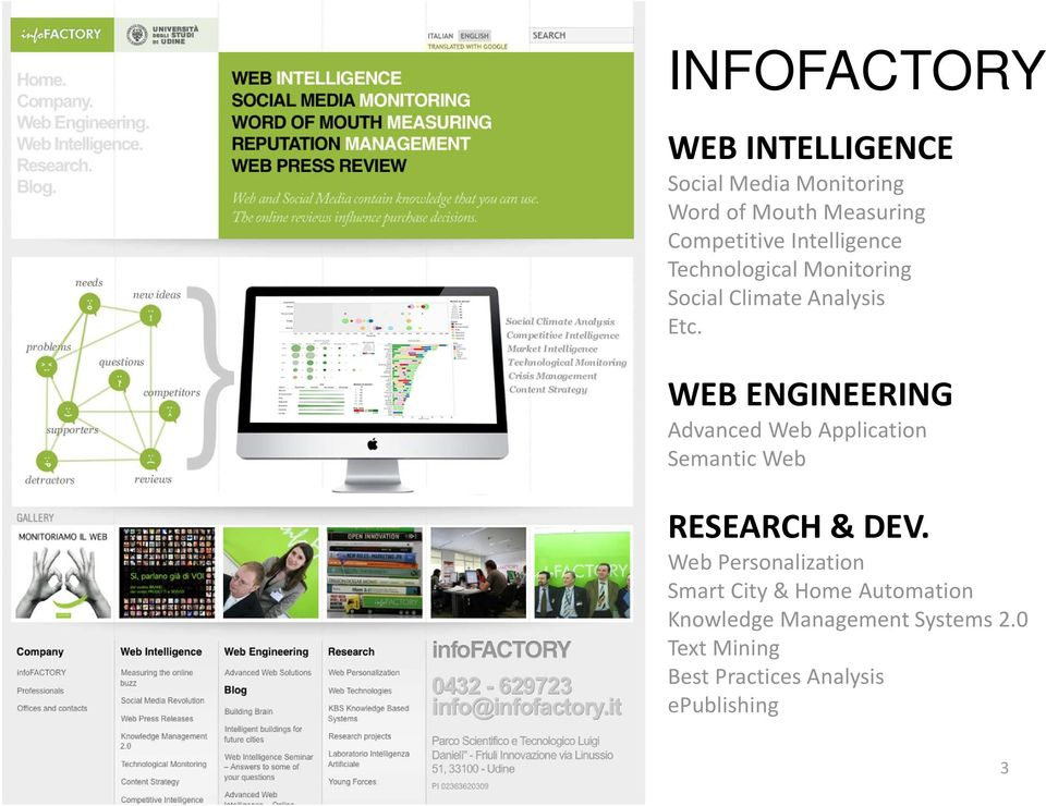 WEB ENGINEERING Advanced Web Application Semantic Web RESEARCH & DEV.
