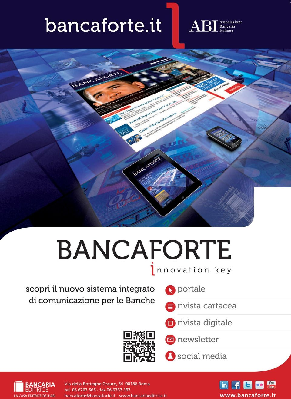 portale rivista cartacea rivista digitale newsletter social media Via