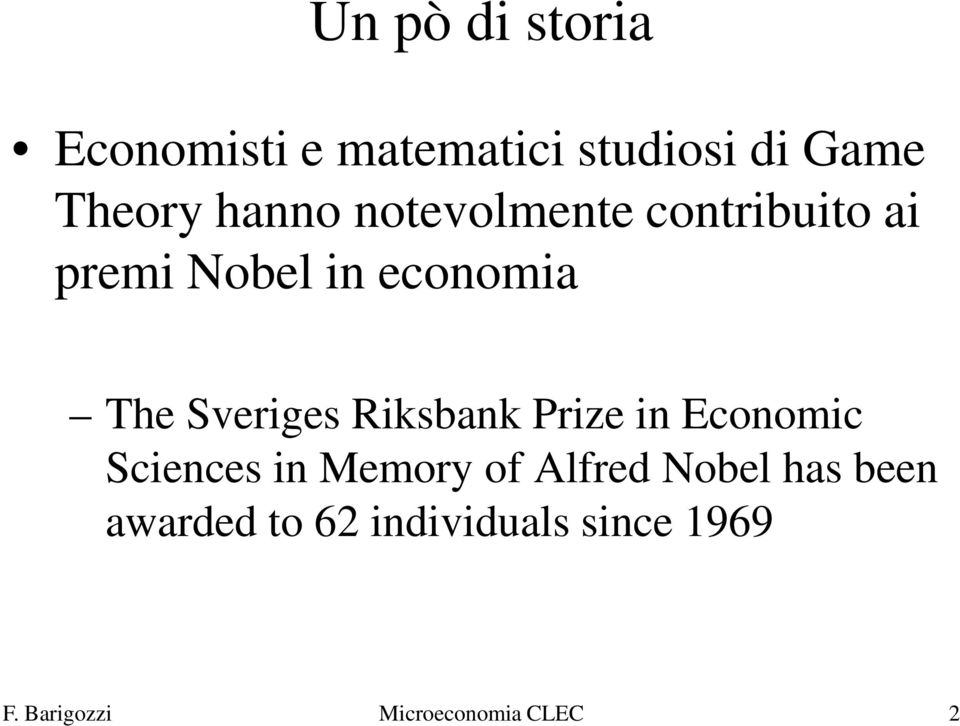 Sveriges Riksbank Prize in Economic Sciences in Memory of Alfred