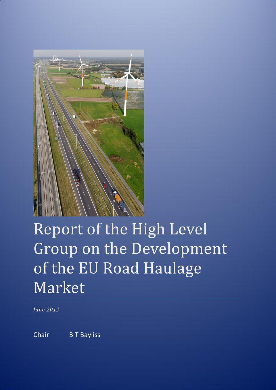 of the EU Road Haulage