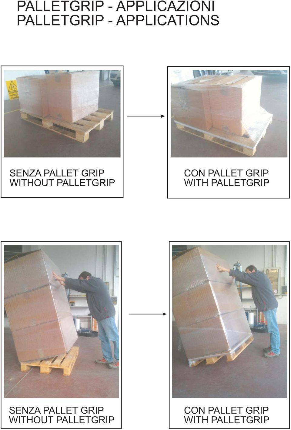 PALLETGRIP CON PALLET GRIP WITH PALLETGRIP