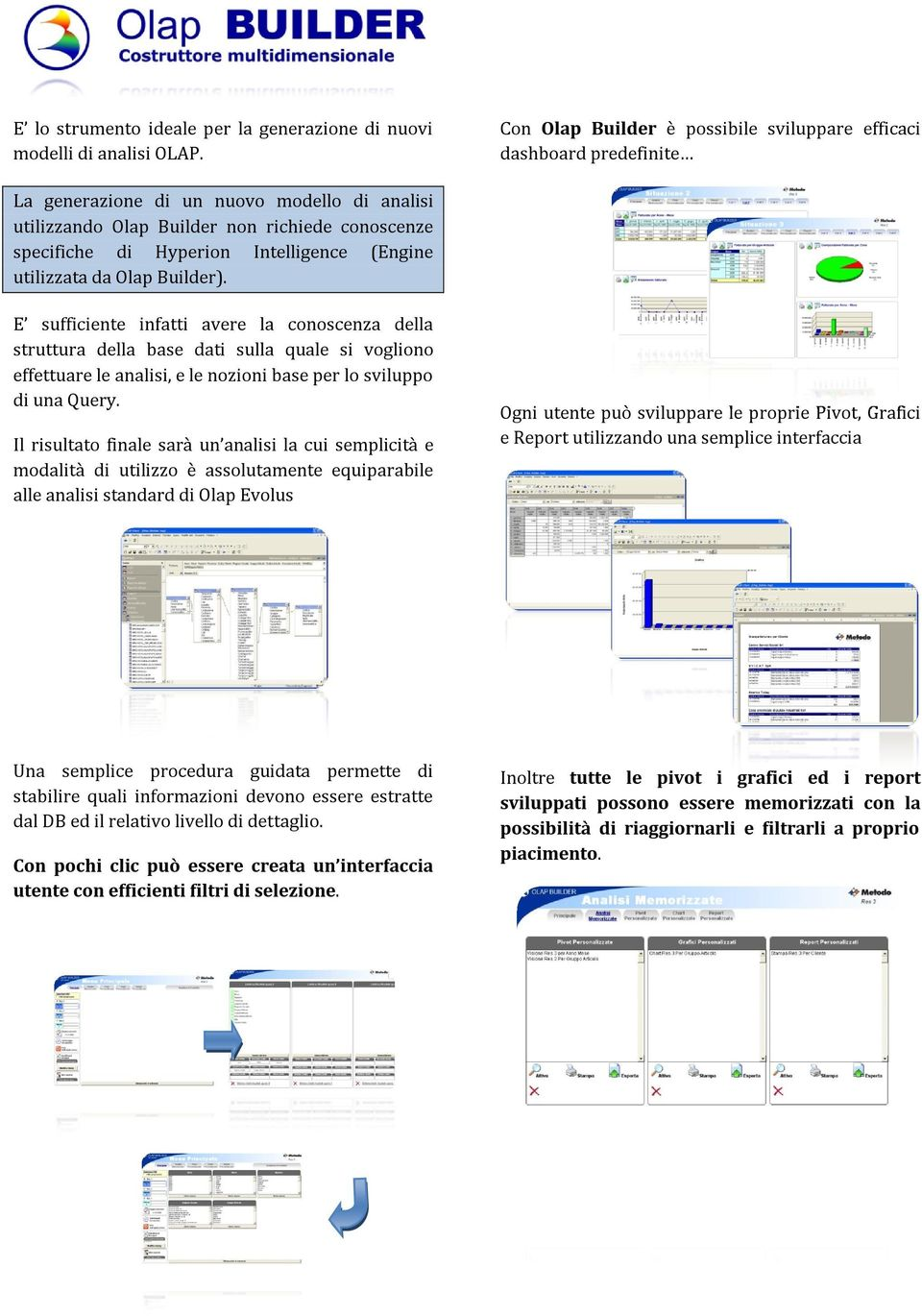 Intelligence (Engine utilizzata da Olap Builder).