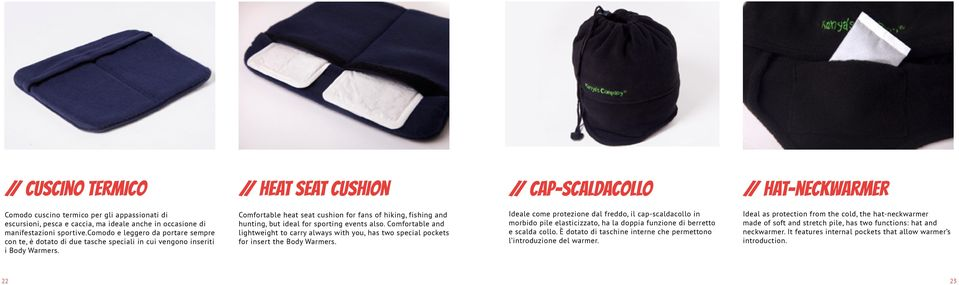 Comfortable heat seat cushion for fans of hiking, fishing and hunting, but ideal for sporting events also.