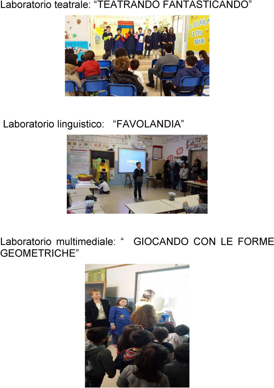 linguistico: FAVOLANDIA Laboratorio