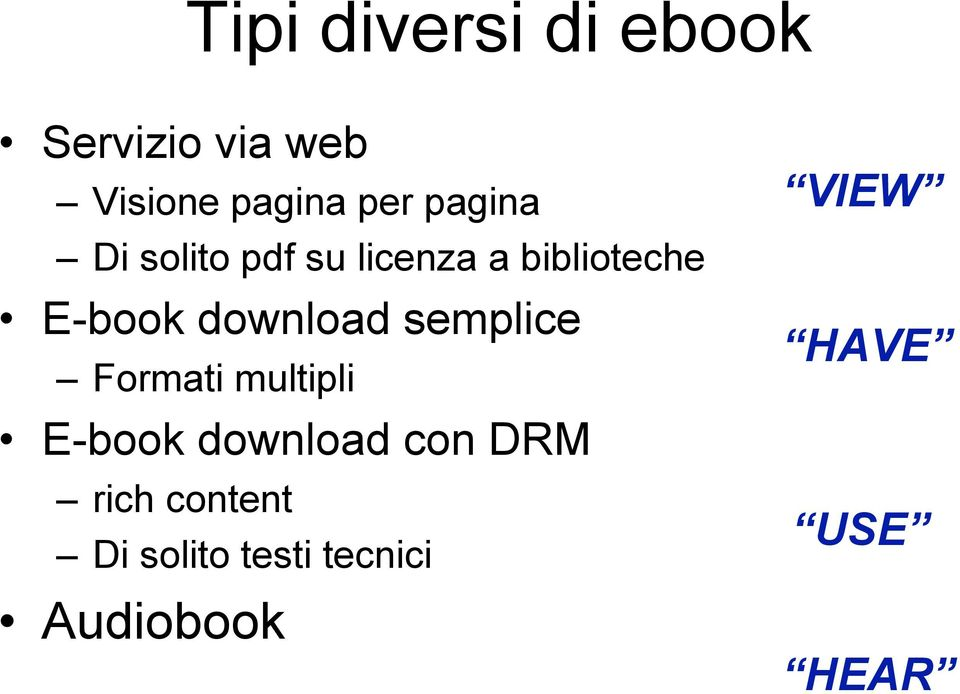download semplice Formati multipli E-book download con DRM