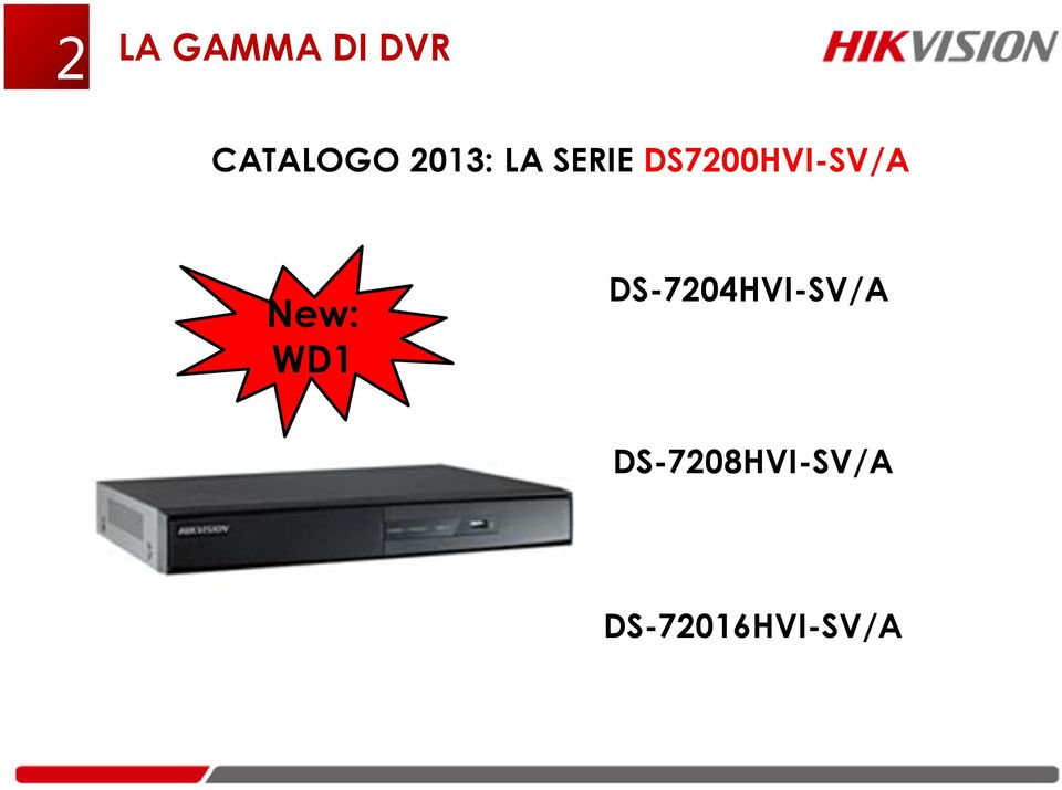 DS7200HVI-SV/A New: WD1