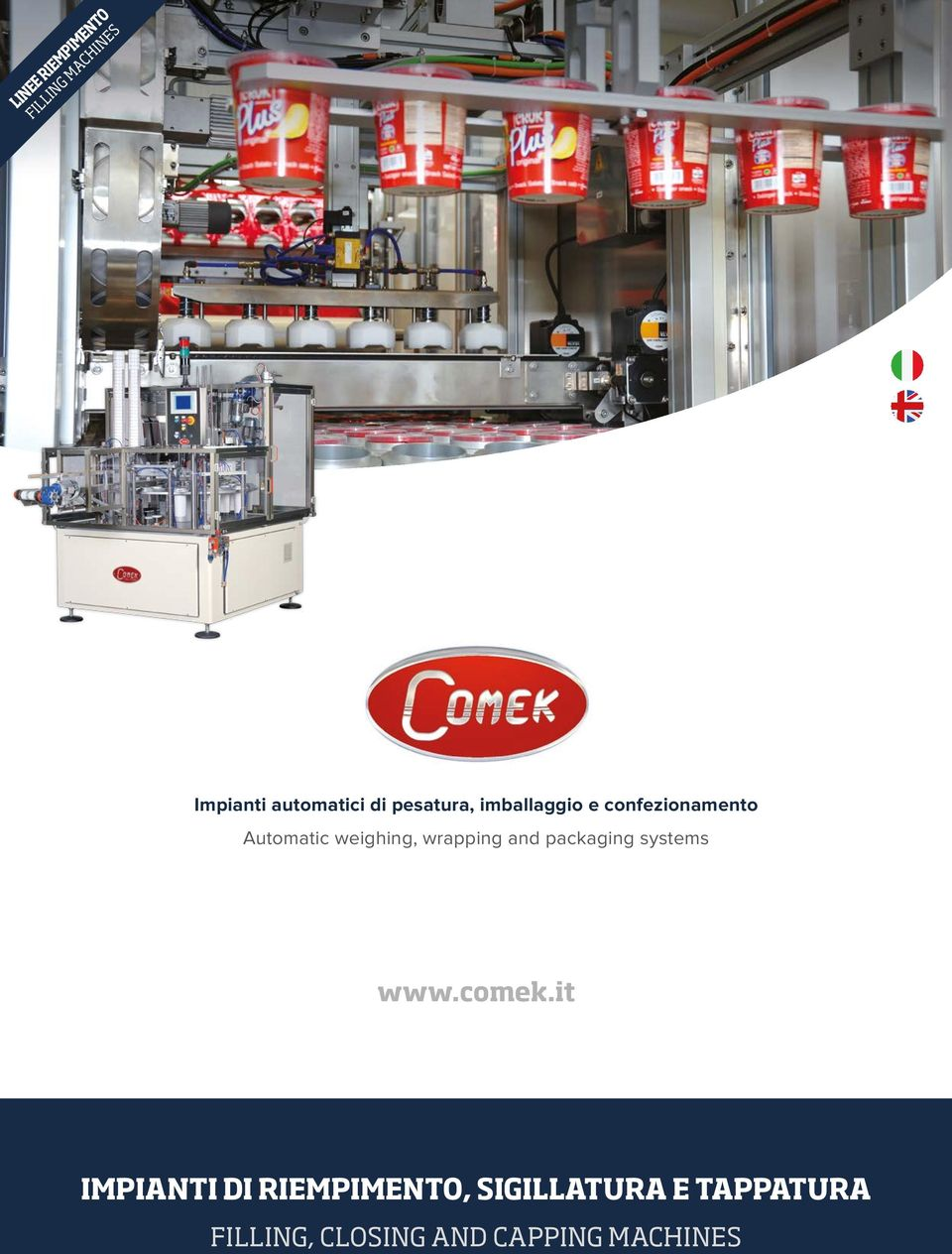 weighing, wrapping and packaging systems IMPIANTI DI