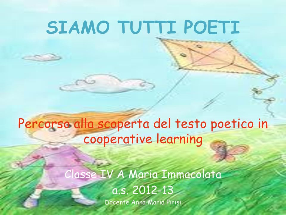 cooperative learning Classe IV A