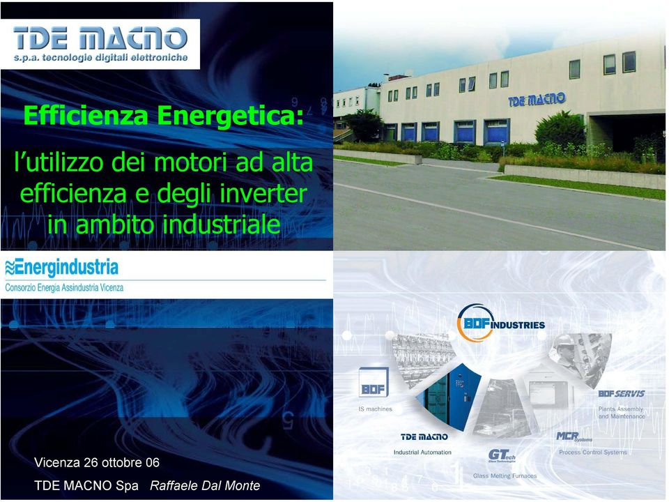 inverter in ambito industriale Vicenza