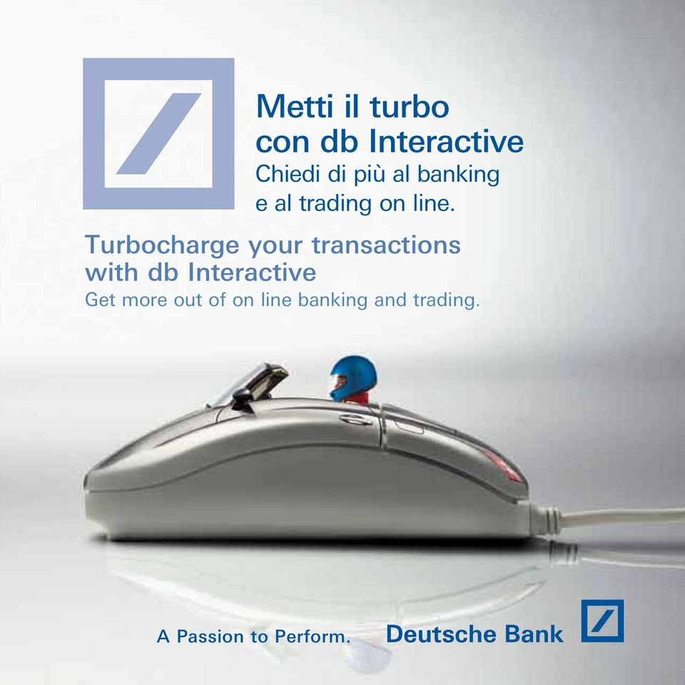Turbocharge your transactions with db Interactive