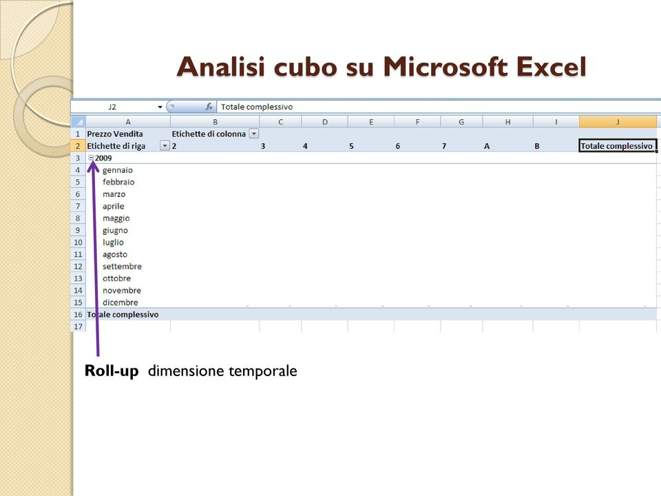 Excel Roll-up