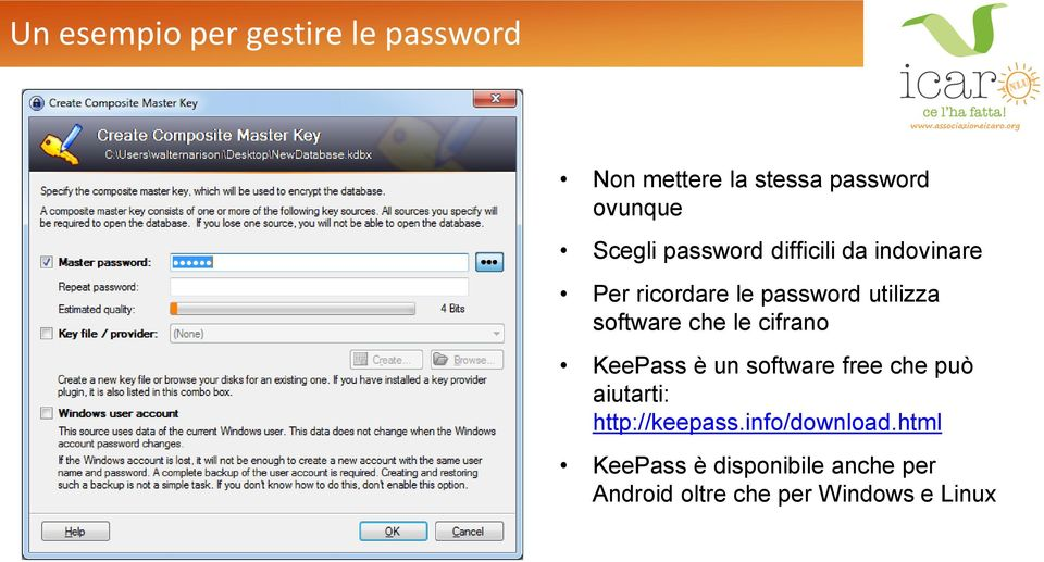 le cifrano KeePass è un software free che può aiutarti: http://keepass.