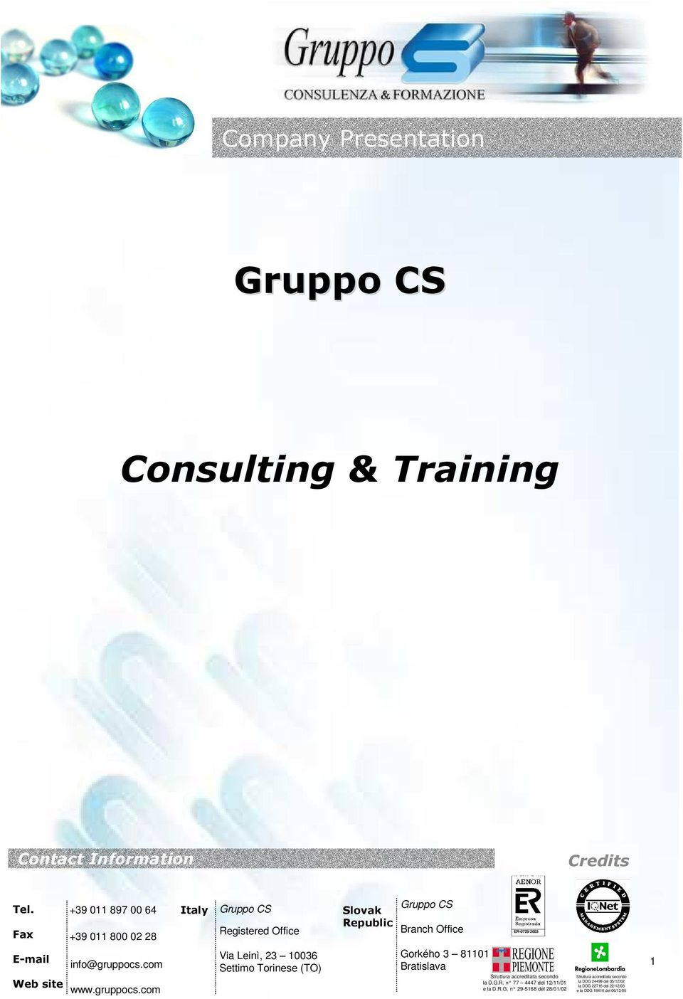 Consulting &